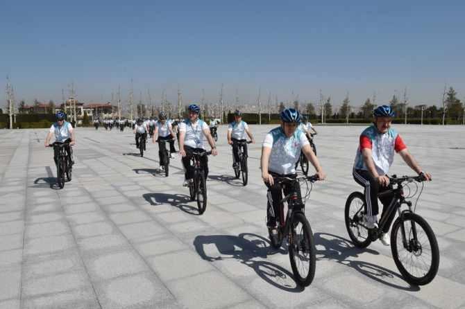 Cumhurbaşkanlığı Bisiklet Turnuvası yapıldı galerisi resim 1