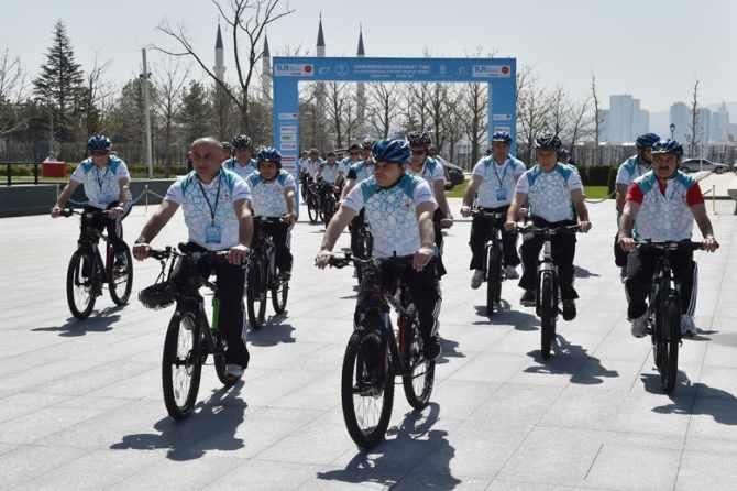 Cumhurbaşkanlığı Bisiklet Turnuvası yapıldı galerisi resim 11