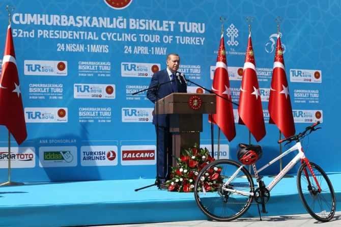 Cumhurbaşkanlığı Bisiklet Turnuvası yapıldı galerisi resim 3