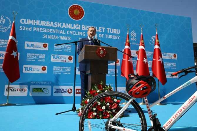 Cumhurbaşkanlığı Bisiklet Turnuvası yapıldı galerisi resim 4