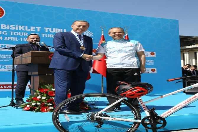 Cumhurbaşkanlığı Bisiklet Turnuvası yapıldı galerisi resim 5