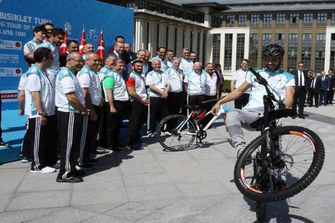 Cumhurbaşkanlığı Bisiklet Turnuvası yapıldı galerisi resim 6