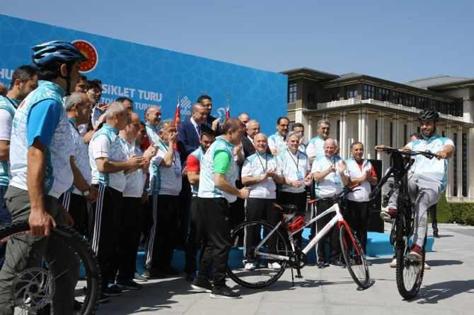 Cumhurbaşkanlığı Bisiklet Turnuvası yapıldı galerisi resim 7