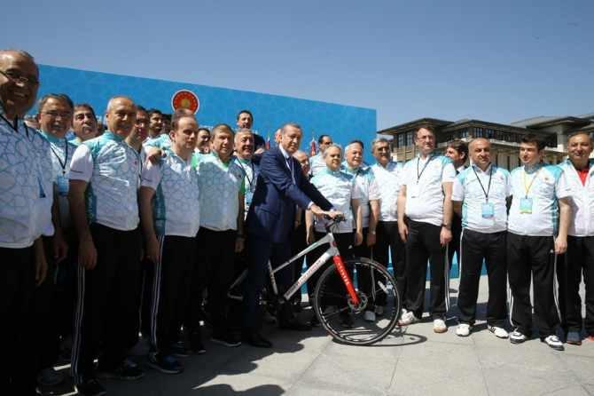 Cumhurbaşkanlığı Bisiklet Turnuvası yapıldı galerisi resim 8