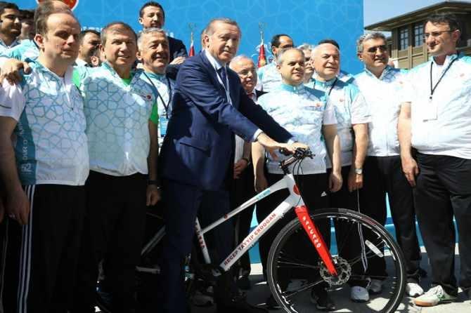 Cumhurbaşkanlığı Bisiklet Turnuvası yapıldı galerisi resim 9