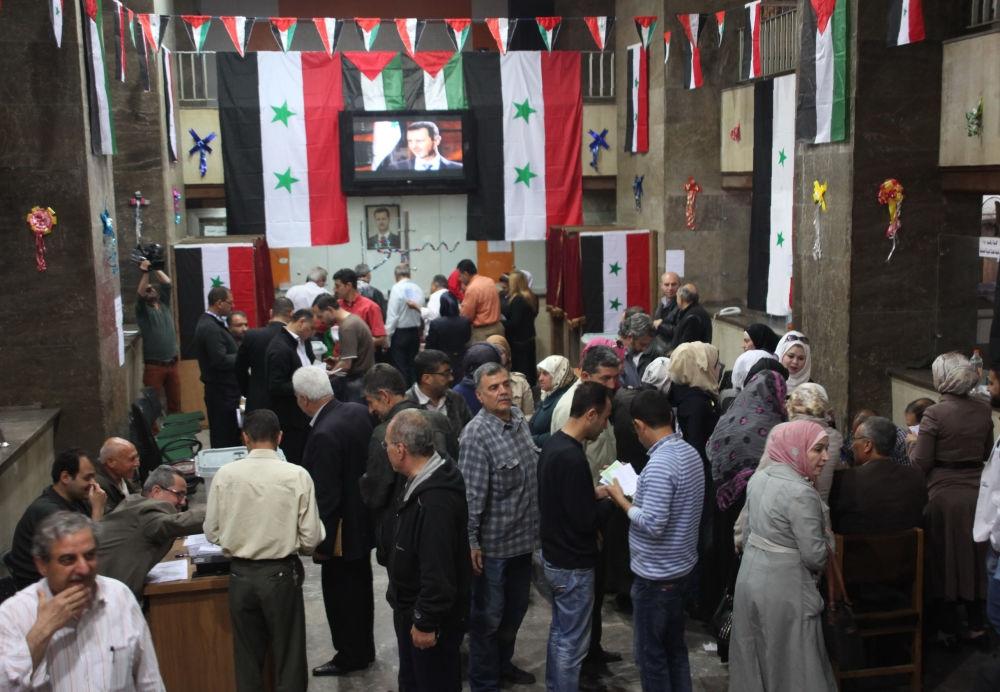 Suriye halkı sandık başında galerisi resim 5