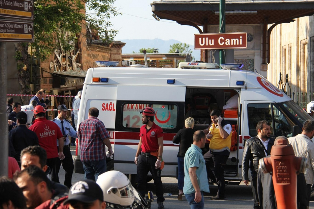 Bursa'da canlı bomba kendini patlattı galerisi resim 5