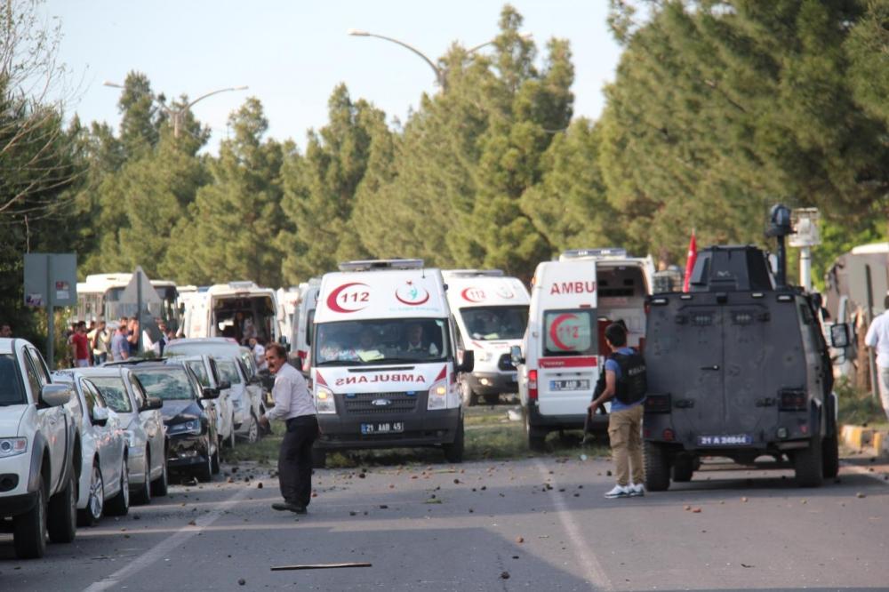 Diyarbakır'da büyük patlama oldu galerisi resim 5