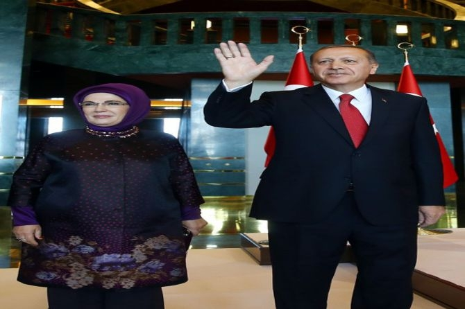 Cumhurbaşkanı Erdoğan gençleri ağırladı galerisi resim 1
