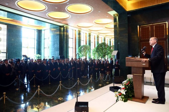 Cumhurbaşkanı Erdoğan gençleri ağırladı galerisi resim 11