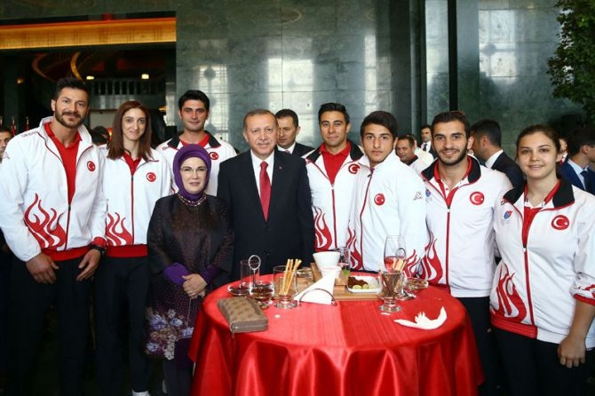 Cumhurbaşkanı Erdoğan gençleri ağırladı galerisi resim 21
