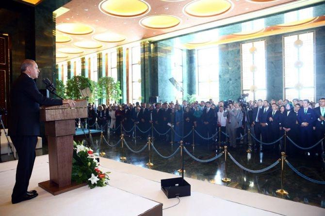 Cumhurbaşkanı Erdoğan gençleri ağırladı galerisi resim 3