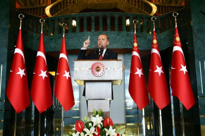 Cumhurbaşkanı Erdoğan gençleri ağırladı galerisi resim 5