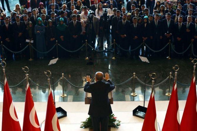 Cumhurbaşkanı Erdoğan gençleri ağırladı galerisi resim 9