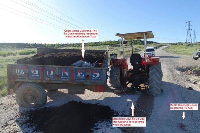 Diyarbakır Valiliği'nden bombalı traktör açıklaması galerisi resim 1