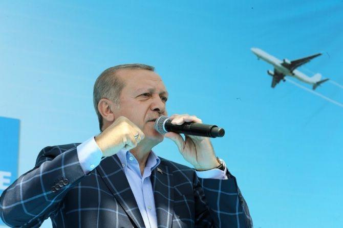 Cumhurbaşkanı Erdoğan'dan ABD'ye PYD tepkisi galerisi resim 20