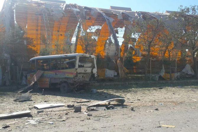 Silopi'deki patlamanın tahribatı ortaya çıktı galerisi resim 10