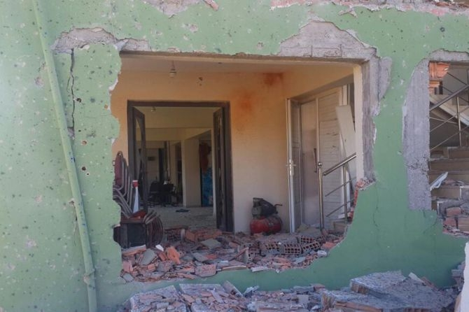 Silopi'deki patlamanın tahribatı ortaya çıktı galerisi resim 3