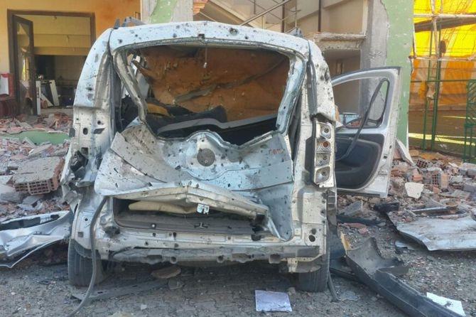 Silopi'deki patlamanın tahribatı ortaya çıktı galerisi resim 6