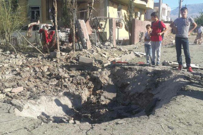 Silopi'deki patlamanın tahribatı ortaya çıktı galerisi resim 7