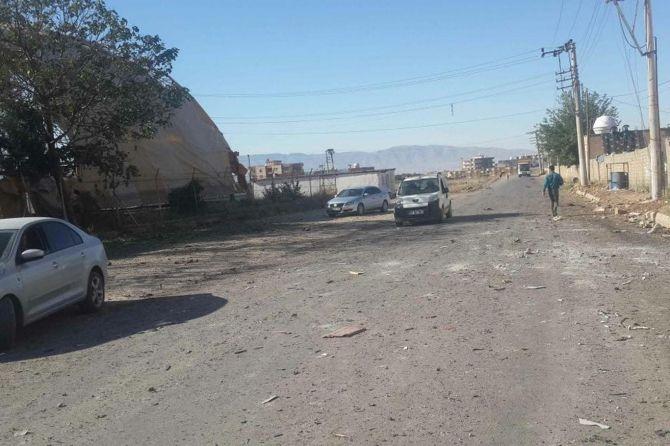 Silopi'deki patlamanın tahribatı ortaya çıktı galerisi resim 8