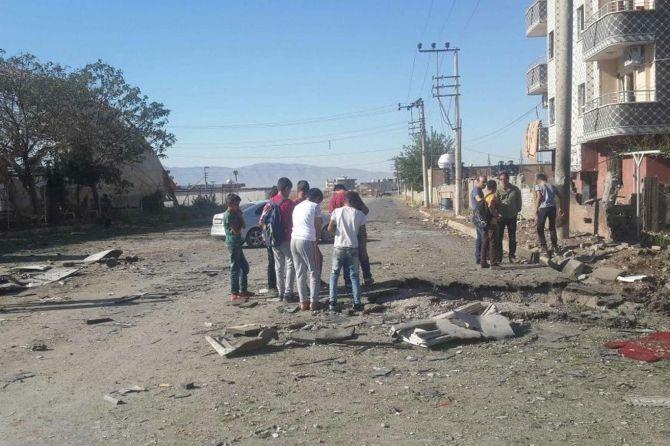 Silopi'deki patlamanın tahribatı ortaya çıktı galerisi resim 9