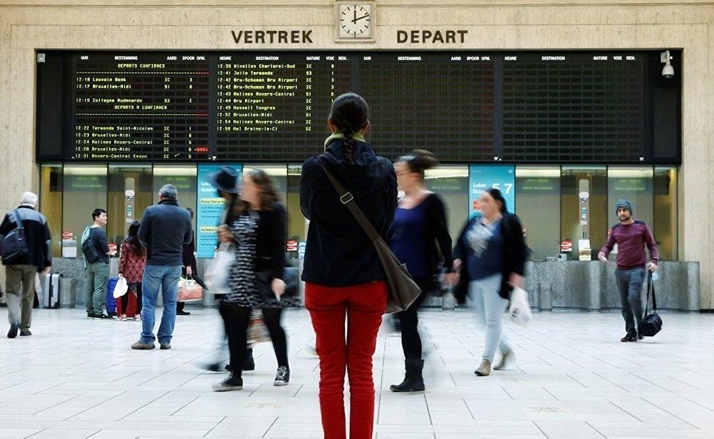 Belçika'da kamu çalışanları grevde galerisi resim 3