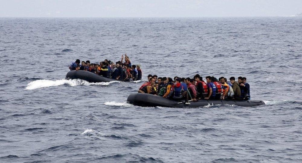 Sığınmacı, Uluslararası Göç Örgütü (IOM), Akdeniz galerisi resim 1
