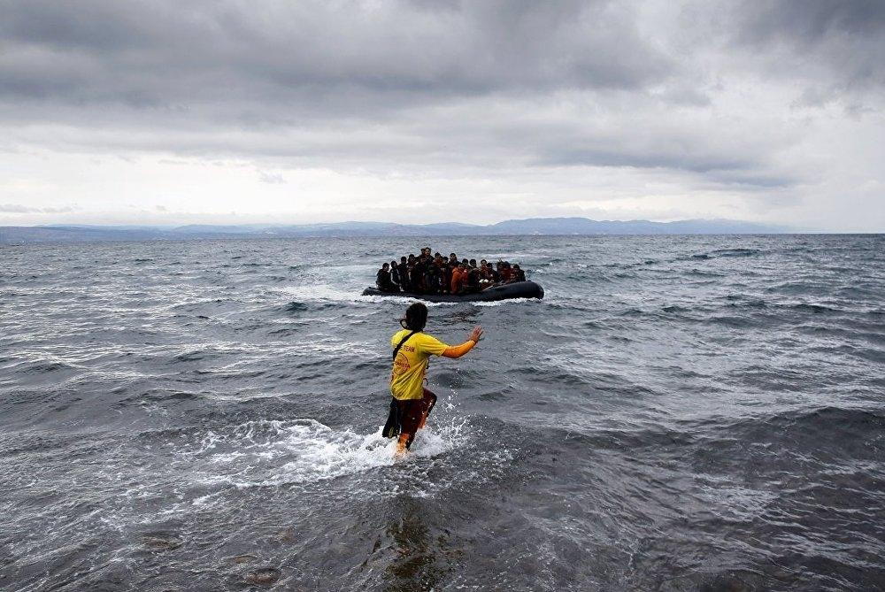 Sığınmacı, Uluslararası Göç Örgütü (IOM), Akdeniz galerisi resim 2