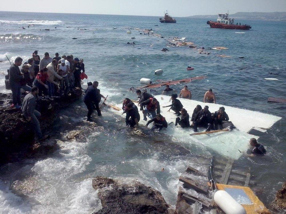 Sığınmacı, Uluslararası Göç Örgütü (IOM), Akdeniz galerisi resim 3