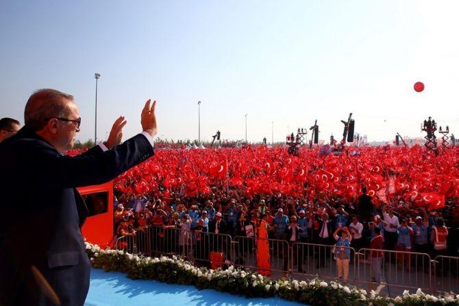Cumhurbaşkanı Erdoğan Yenikapı'da 5 milyona seslendi galerisi resim 1