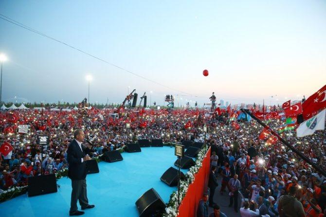 Cumhurbaşkanı Erdoğan Yenikapı'da 5 milyona seslendi galerisi resim 10