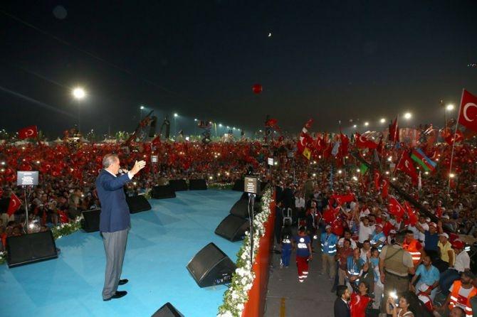 Cumhurbaşkanı Erdoğan Yenikapı'da 5 milyona seslendi galerisi resim 11