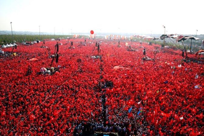 Cumhurbaşkanı Erdoğan Yenikapı'da 5 milyona seslendi galerisi resim 12