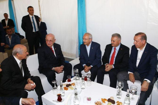 Cumhurbaşkanı Erdoğan Yenikapı'da 5 milyona seslendi galerisi resim 13