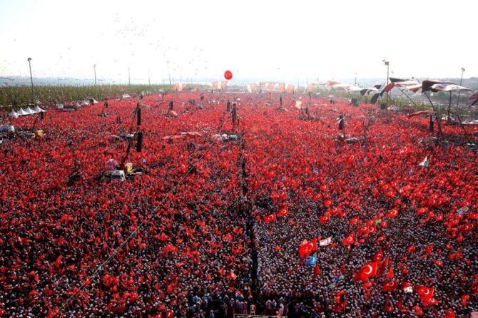Cumhurbaşkanı Erdoğan Yenikapı'da 5 milyona seslendi galerisi resim 14