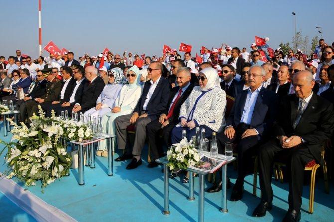Cumhurbaşkanı Erdoğan Yenikapı'da 5 milyona seslendi galerisi resim 16