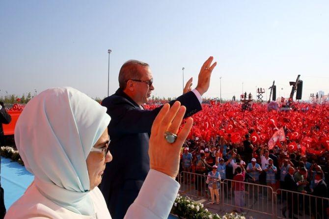 Cumhurbaşkanı Erdoğan Yenikapı'da 5 milyona seslendi galerisi resim 2