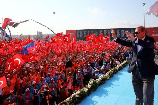 Cumhurbaşkanı Erdoğan Yenikapı'da 5 milyona seslendi galerisi resim 5