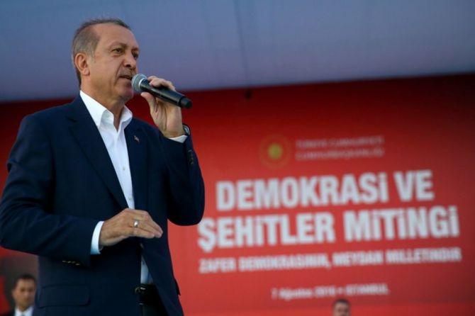 Cumhurbaşkanı Erdoğan Yenikapı'da 5 milyona seslendi galerisi resim 6