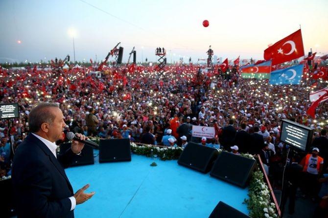 Cumhurbaşkanı Erdoğan Yenikapı'da 5 milyona seslendi galerisi resim 8
