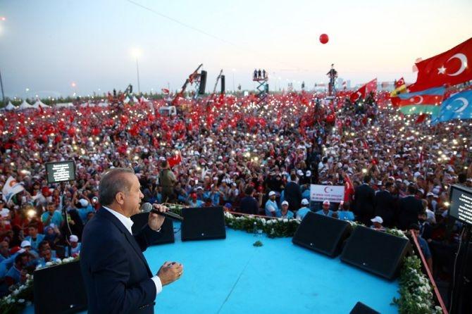 Cumhurbaşkanı Erdoğan Yenikapı'da 5 milyona seslendi galerisi resim 9