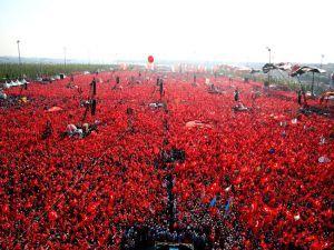 Cumhurbaşkanı Erdoğan Yenikapı'da 5 milyona seslendi
