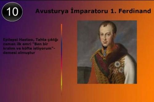 Tarihin gelmiş geçmiş en deli hükümdarları galerisi resim 9