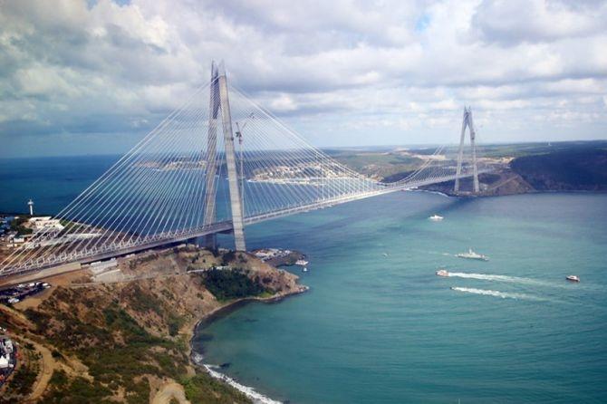 Yavuz Sultan Selim Köprüsü hizmete açılıyor galerisi resim 1