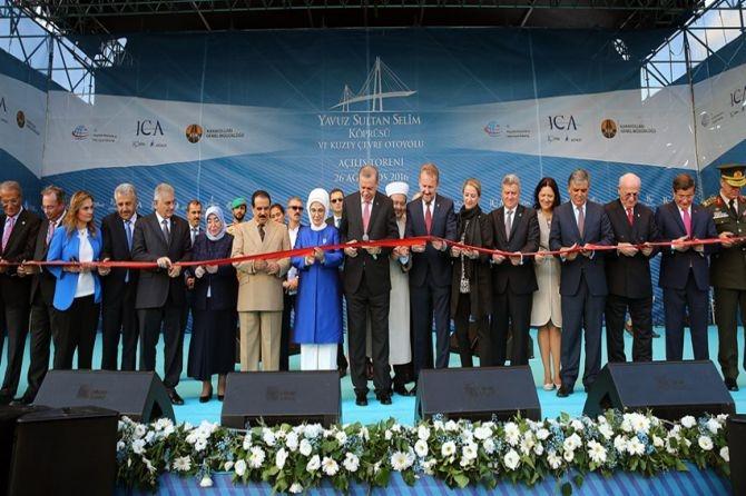 Yavuz Sultan Selim Köprüsü hizmete açılıyor galerisi resim 17