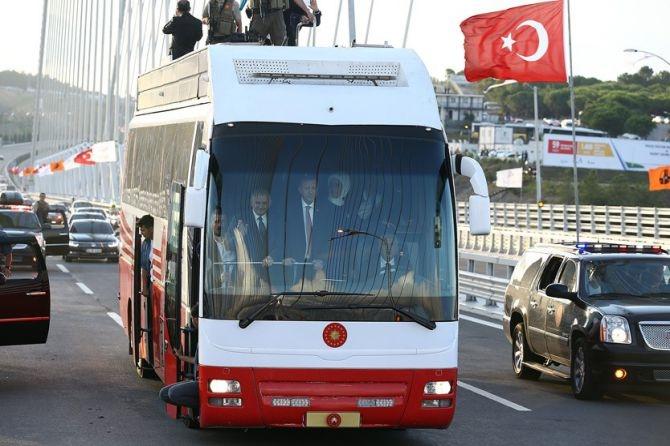 Yavuz Sultan Selim Köprüsü hizmete açılıyor galerisi resim 19