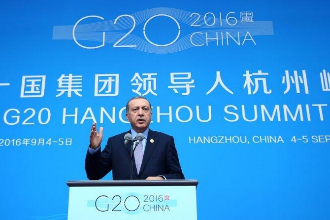 Cumhurbaşkanı Erdoğan Çin'de önemli mesajlar verdi galerisi resim 1