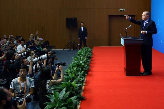 Cumhurbaşkanı Erdoğan Çin'de önemli mesajlar verdi galerisi resim 10