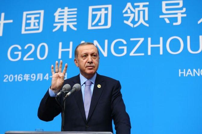 Cumhurbaşkanı Erdoğan Çin'de önemli mesajlar verdi galerisi resim 11